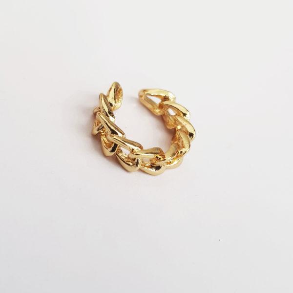 Ear Cuffs Cuban Link Earring For Unpierced Ears