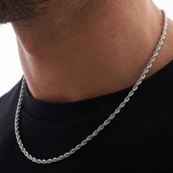 10 Day Refund, Return and Exchange policy 3 Months Limited warranty for: Unisex Rope Necklace in Gold Or Silver Free Delivery in South Africa. DESCRIPTION: This Unisex Rope chain is currently the craze and a true classic for both men and women. Rock this incredible piece with your everyday go to look and make a statement with this high trend, fashionable piece. This chain adds a classic touch to your jewellery collection. Choose between classic gold plated and silver plated finishes. For men, pair it with a casual black or white T and for women, pair it with a white button open blouse.
