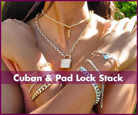 In-trend-jewellery-covers-cuban-and-pad-lock-stack